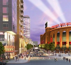 The elusive Ballpark Village. - WWW.CORDISH.COM