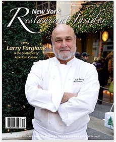 "Chef Larry Forgione has been called the ""godfather of American cuisine."""