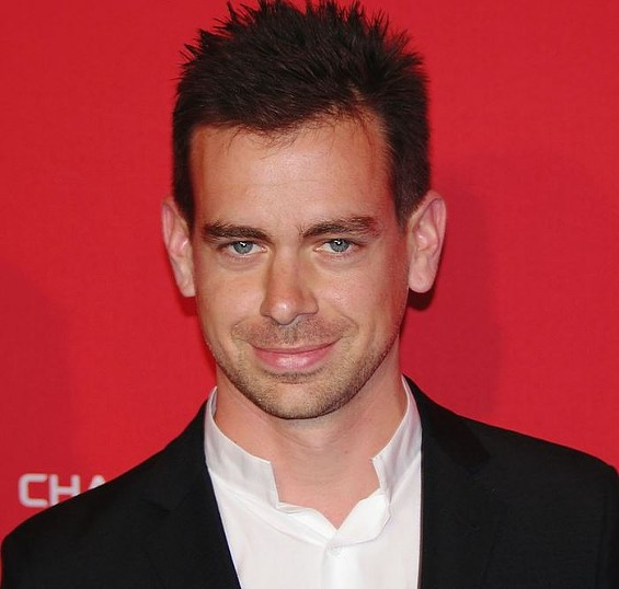 Jack Dorsey is still totally punk rock. - DAVID SHANKBONE/WIKIMEDIA