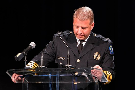 Police Chief Sam Dotson. - VIA FACEBOOK / SLMPD