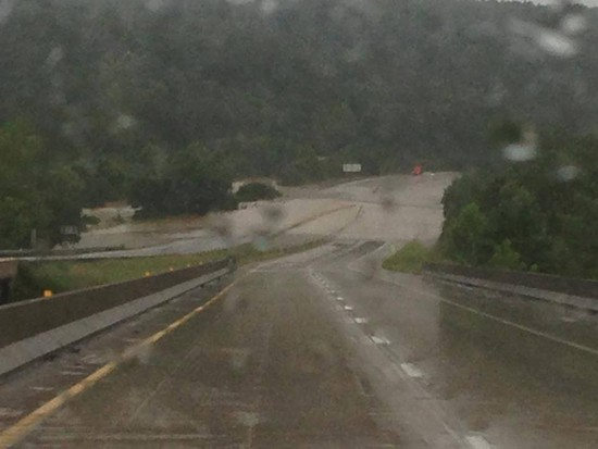 East and West bound I-44 closed at Jerome. - VIA FACEBOOK / CITY OF ROLLA FIRE & RESCUE