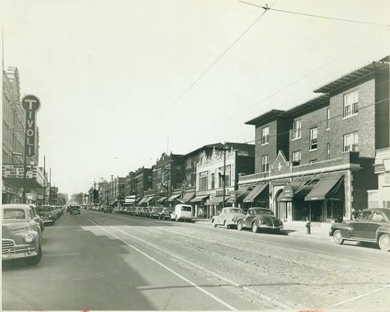 The Delmar Loop in 1948. - UNIVERSITY CITY PUBLIC LIBRARY