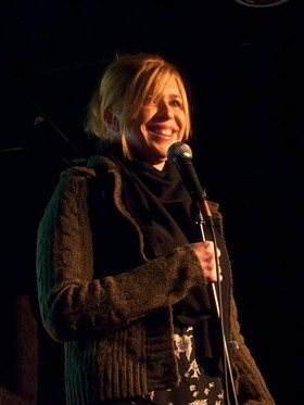 """Andi Smith: """"I think there has to be a certain amount of personal pain to become a real comedian."""""""