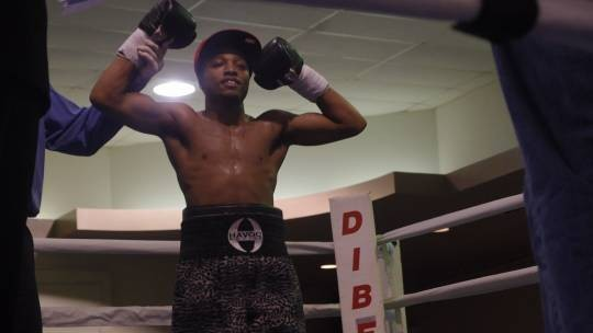 Stephon Young, a recent Golden Gloves silver medalist in the amateurs, has won his first two profession bouts. - ALBERT SAMAHA