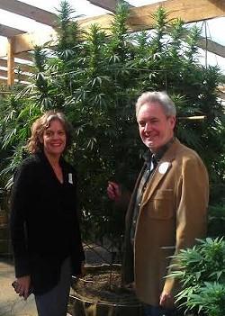 Mark Pedersen and his partner Regina Nelson. - COURTESY OF REGINA NELSON
