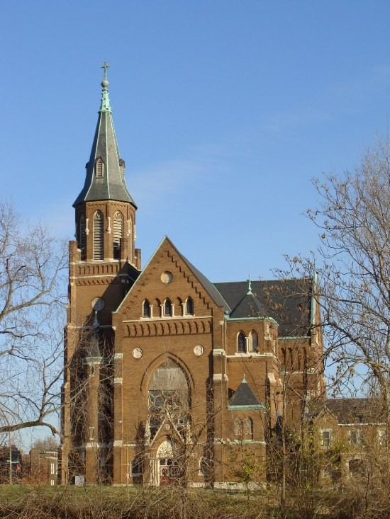 St. Augustine Roman Catholic Church. - PHOTO BY CHRIS NAFFZIGER