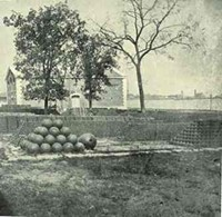 """Fun fact: What we call """"pokes"""" now were actually cannonballs during the Civil War. - IMAGE VIA"""