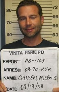 Ohlsen when he was arrested for weapons charges in 2008.