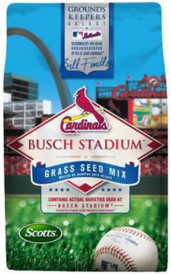 Coming soon! Busch Stadium grass seed.