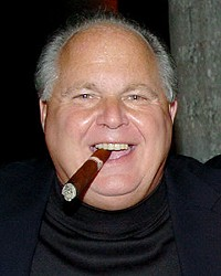 Rush Limbaugh is cashing in on the tea party schtick with, yes, tea.