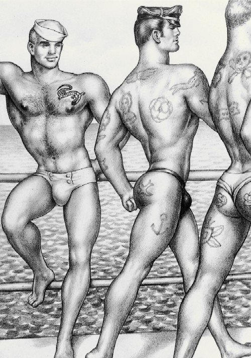 Get an eyeful of phd gallery's Tom of Finland: Original Drawings exhibition, the perfect nightcap to the first day of PrideFest. - TOM OF FINLAND FOUNDATION