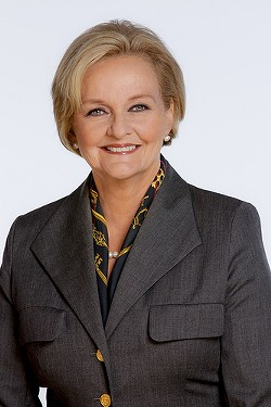 Claire McCaskill: Vulnerable, but not because her challengers are so awesome or anything.