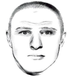 Composite of passenger suspect. - ST. LOUIS COUNTY POLICE