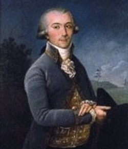 Pierre Laclede, founder of St. Louis. - VIA