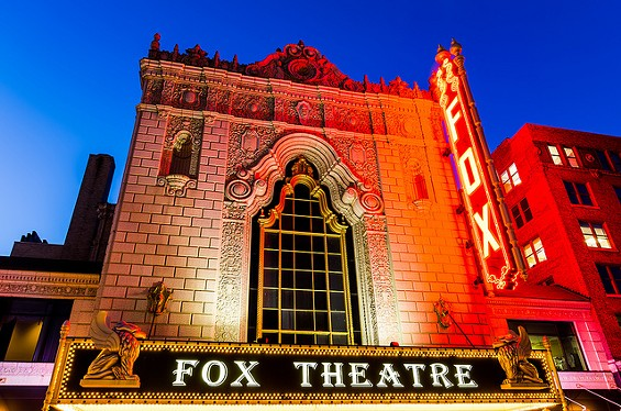Some say the Fabulous Fox Theatre is haunted. - PHILLIP LEARA ON FLICKR