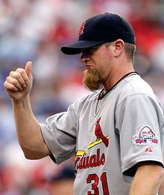 Ryan Franklin and his awful beard will once again be closing games for the Cardinals this season. The rest of the 'pen, though, is somewhat up in the air.