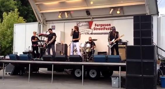 StreetFest in Ferguson is postponed. - YOUTUBE
