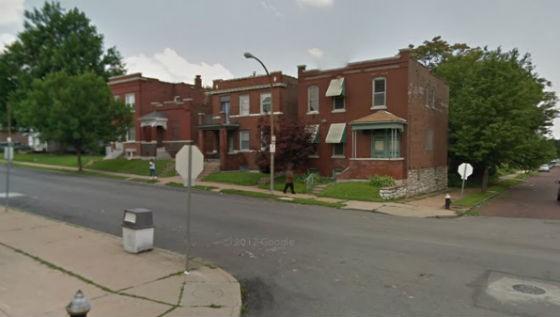 Street where the burglary/shooting took place. - GOOGLE MAPS