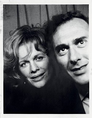 Antonia Fraser and Harold Pinter: They were in love, God bless 'em.