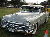 A 1953 Chrysler New Yorker