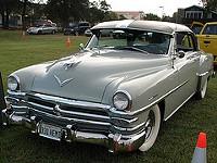 A 1953 Chrysler New Yorker
