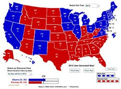 One state, two state, red state, blue state...