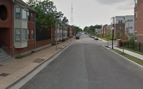 Carr Street where the shooting took place. - VIA GOOGLE MAPS