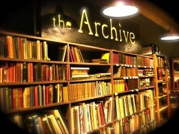 The Archive on South Jefferson got burgled the other day - IMAGE VIA