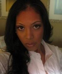 "A Facebook photo of a ""Supriya Harris"" that seems to match the description of Jackson's ex-girlfriend."