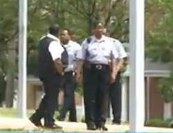 Security guards at Clyde Academy. - VIA KSDK