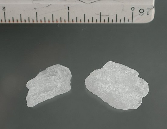 Meth crystals. - U.S. DEPARTMENT OF JUSTICE