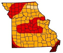 Look at all that glorious non-red territory. - U.S. DROUGHT MONITOR