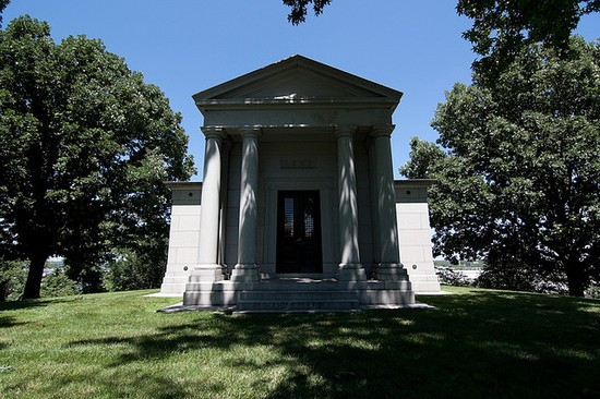 The Lemp Family Tomb was built in 1902 for $60,000 -- roughly the equivalent of $1.5 million today. - VIA BELLEFONTAINE CEMETERY