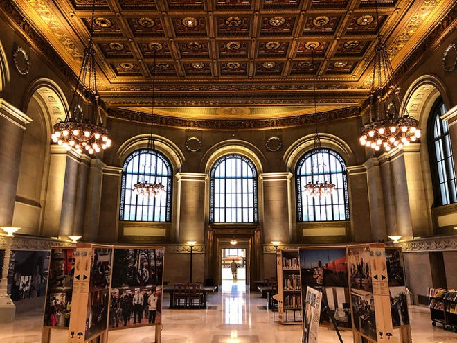 The St. Louis Public Library isn't just gorgeous, it's also generous. - FLICKR/JONATHAN CUTRER