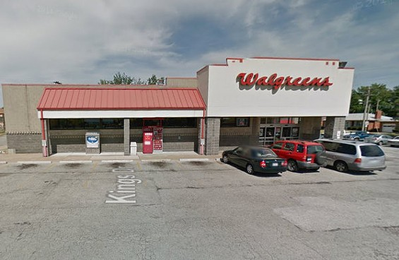The south-city Walgreens where Colleen Segbers died. - GOOGLE MAPS