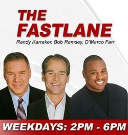 Farr (far right) and his posse on ESPN 101. - 101ESPN.COM