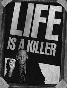 William S. Burroughs: even weirder than we thought. - IMAGE VIA