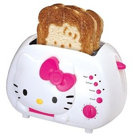 Yes, I realise this is a toaster and not a Toston, but I'm hoping someone will see this and take the hint. I have a birthday coming up, and an unhealthy love for Hello Kitty merchandise.