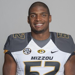 Michael Sam. - VIA MUTIGERS.COM