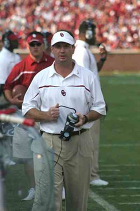 I tried to find a picture of Bob Stoops crying, but couldn't come up with one. So just use your imagination, and picture him weeping copiously here. Feels good, doesn't it? - COMMONS.WIKIMEDIA.ORG