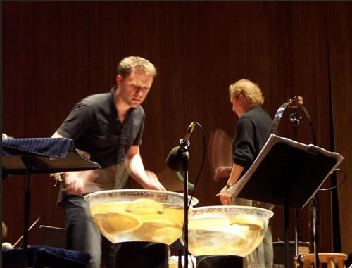 Currie percussing. - COLINCURRIE.NET