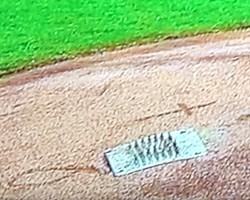 Christian symbols on the mound at Busch? - ALL IMAGES COURTESY OF MICHAEL VINES