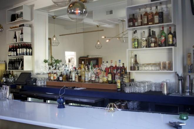 Enjoy wine, beer or thoughtful cocktails at 58hundres's bar. - CHERYL BAEHR