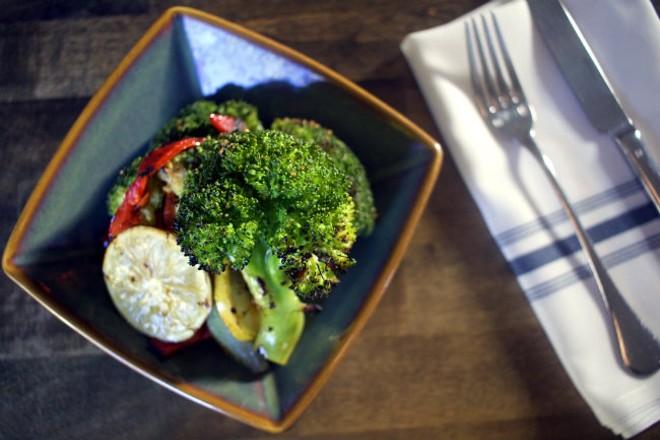 Vegetarian options abound. - CHERYL BAEHR