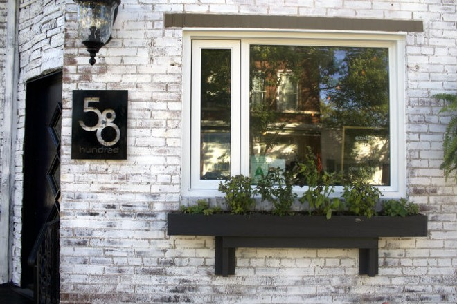 58hundred adds a touch of charm to its little corner of Southwest Avenue. - CHERYL BAEHR