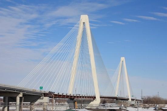 The Stan Musial Veterans Bridge opened last weekend. - PHOTOS BY CHRIS NAFFZINGER