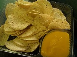 You knew those stadium nachos weren't healthy in the first place.