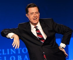Colbert in St. Louis this weekend. - JON GITCHOFF / RFT SLIDESHOW
