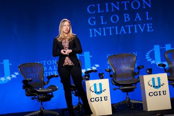 Chelsea Clinton. - JON GITCHOFF / RFT SLIDESHOW