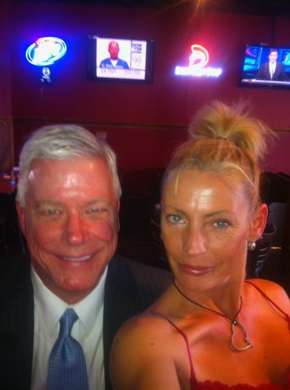 We really just wanted an excuse to run this picture again: ladies and gentlemen, we give you Peter Kinder and Tammy Chapman.